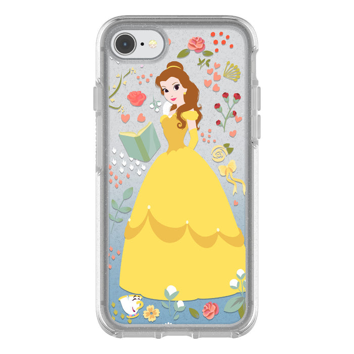 OtterBox SYMMETRY SERIES Case for iPhone 8 / 7 - Power of Princess Case - Intelligent Rose