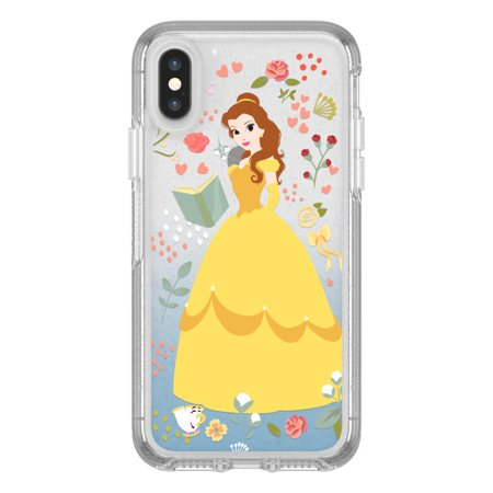 OtterBox SYMMETRY SERIES Case for iPhone X / XS - Power of Princess Case - Intelligent Rose