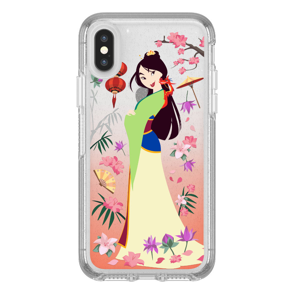 OtterBox SYMMETRY SERIES Case for iPhone X / XS - Power of Princess - Garden of Honor