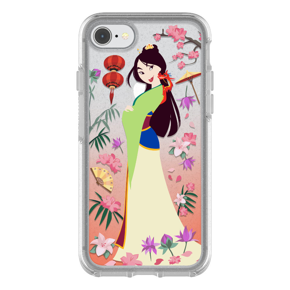 OtterBox SYMMETRY SERIES Case for iPhone 7 / 8 - Power of Princess - Garden of Honor
