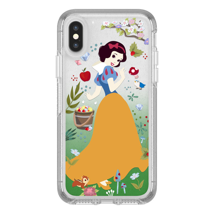 OtterBox SYMMETRY SERIES Case for iPhone X / XS - Power of Princess - Forest of Kindness