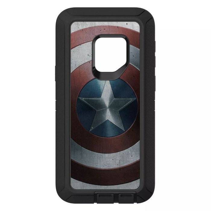 OtterBox DEFENDER SERIES Case & Holster for Galaxy S9 (ONLY) - Marvel Avengers -Vibranium