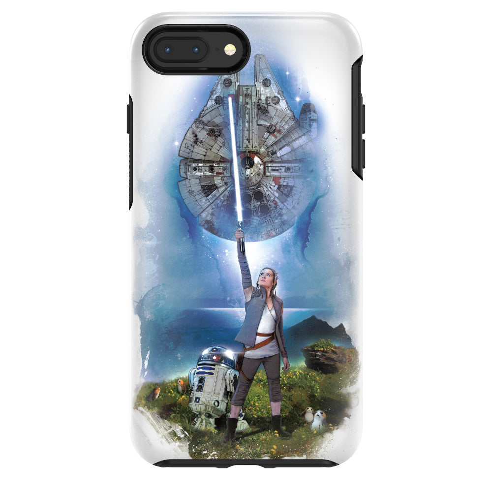 OtterBox SYMMETRY SERIES Case for iPhone 8 / 7 Plus - Galactic Collection - On Ahch-To