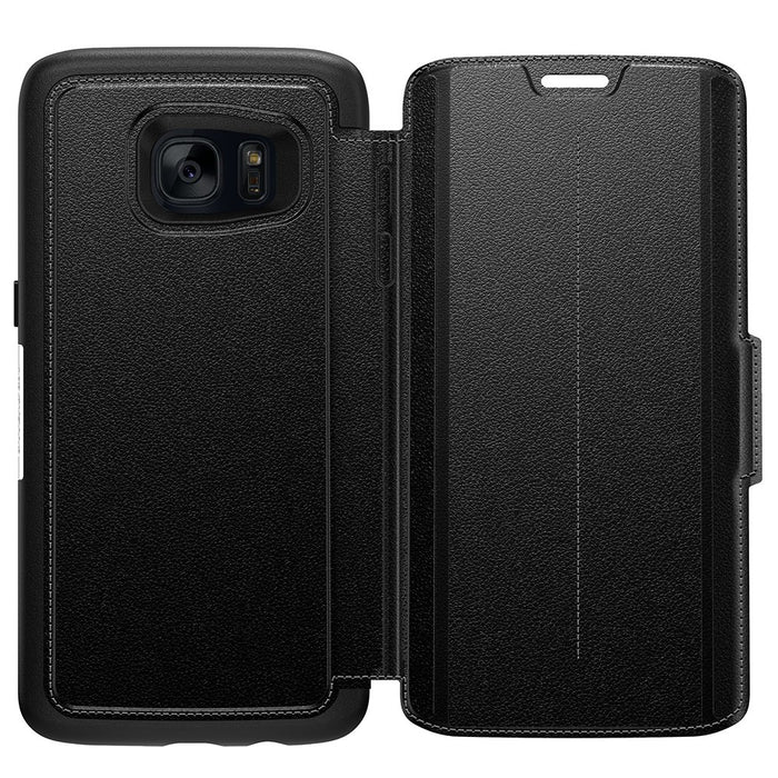OtterBox STRADA SERIES Case for Galaxy S7 Edge - Onyx Black