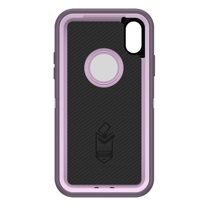 OtterBox DEFENDER SERIES Case & Holster for iPhone X / XS (ONLY) - Purple Nebula