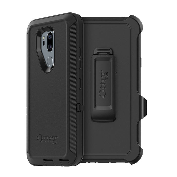 OtterBox DEFENDER SERIES Case & Holster for LG G7 ThinQ - Black