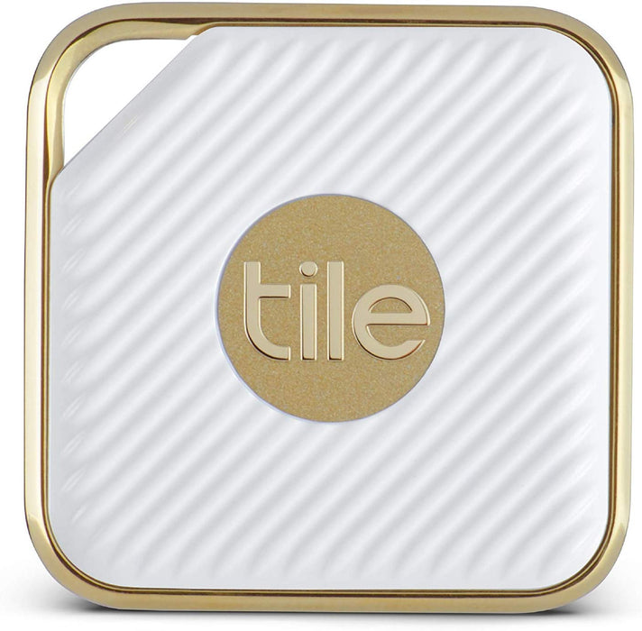 Tile Pro Style Smart Tracker (1 Pack) - White / Gold