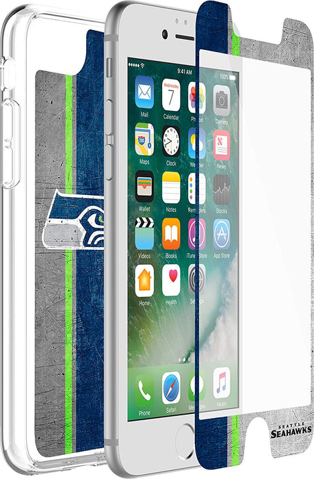 OtterBox ALPHA GLASS Screen Protector for iPhone 6 / 6S / 7 / 8 - Seattle Seahawks