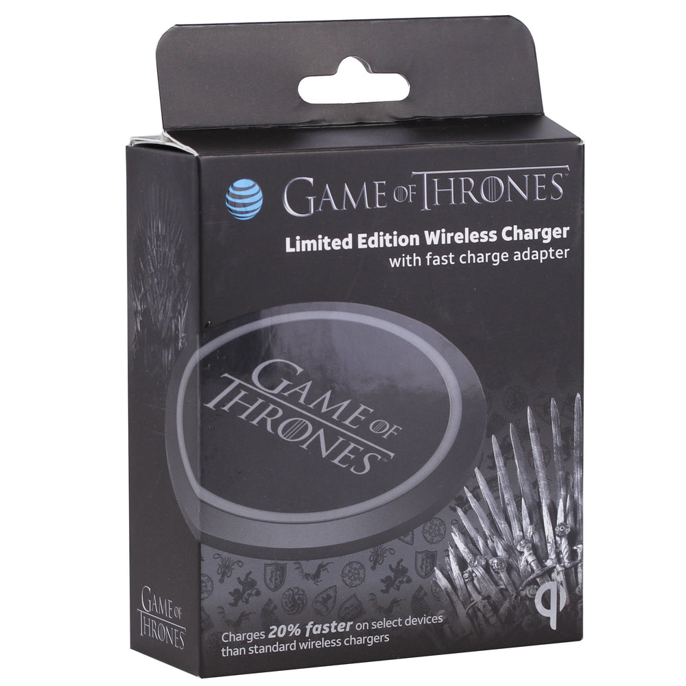 Game of Thrones Limited Edition Wireless Qi Qualcomm Quick Charge 3.0 Charging Pad by AT&T