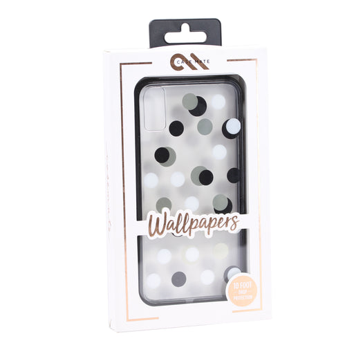 Case Mate Tough Wallpapers Case for iPhone XS Max (ONLY) - Metallic Dot