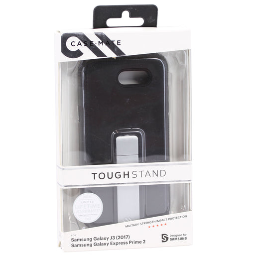 Case Mate Tough Stand For Samsung Galaxy J3 / Express Prime 2 - Black