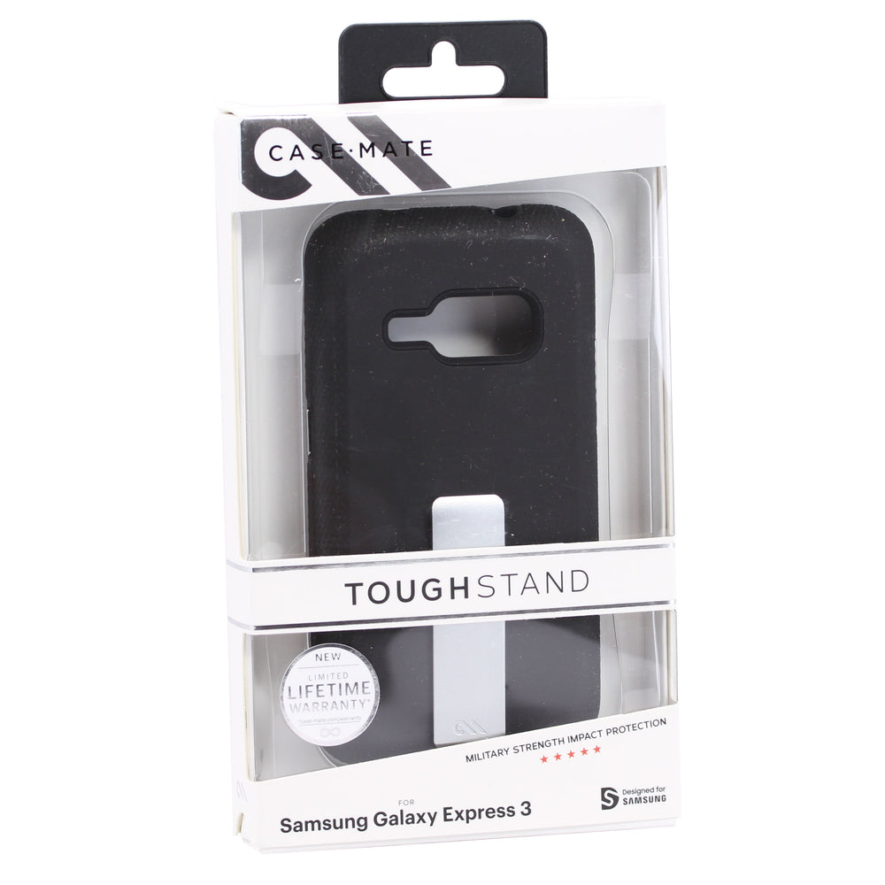 Case Mate Tough Stand For Samsung Galaxy Express 3 - Black