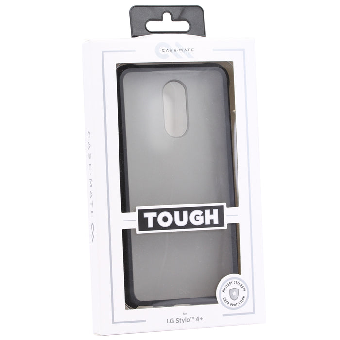 Case Mate Tough Case For LG Stylo 4+ (ONLY) - Clear / Black