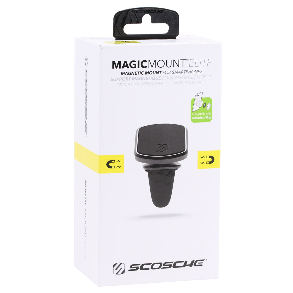 Scosche MagicMount Elite Vent Mount for Mobile Phones - Black