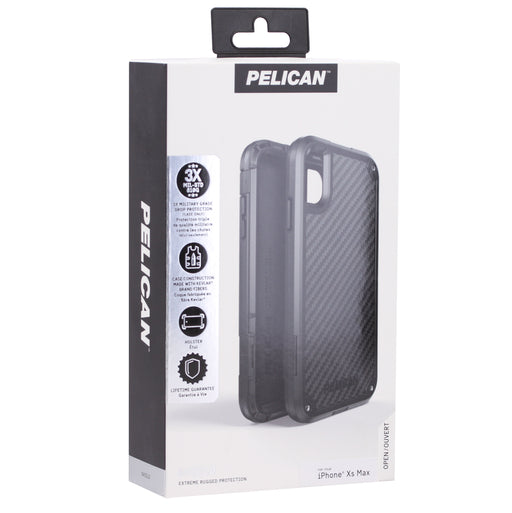 Pelican Shield Case For iPhone XS Max (ONLY) - Black