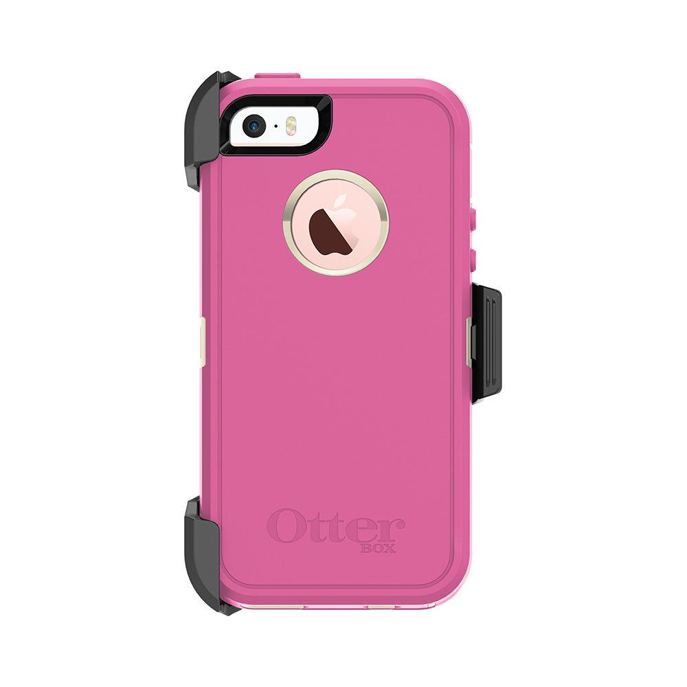 OtterBox DEFENDER SERIES Case & Holster for iPhone 5 / 5S / SE (ONLY) - Berries N Cream