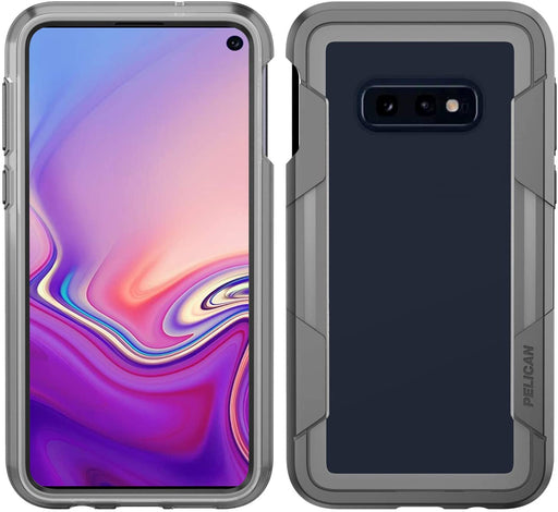 Pelican Voyager Case for Samsung Galaxy S10e - Gray / Clear