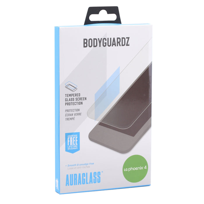 Bodyguardz Auraglass Glass Screen Protector For LG Phoenix 4