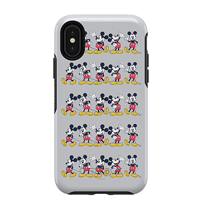 OtterBox SYMMETRY SERIES Case for iPhone X / XS - Disney Mickey's 90th - Mickey Line