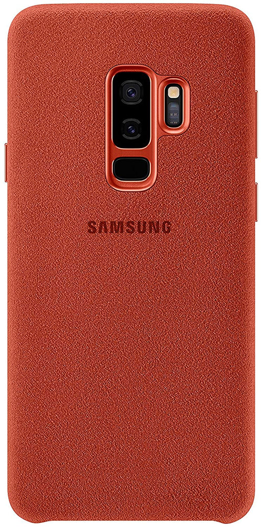 Samsung Alcantara Cover For Galaxy S9 Plus - Red