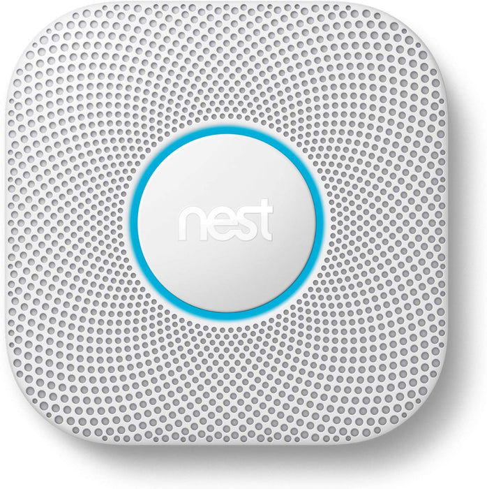 Nest Protect Wired Smoke and Carbon Monoxide - White (Certified Refurbished)