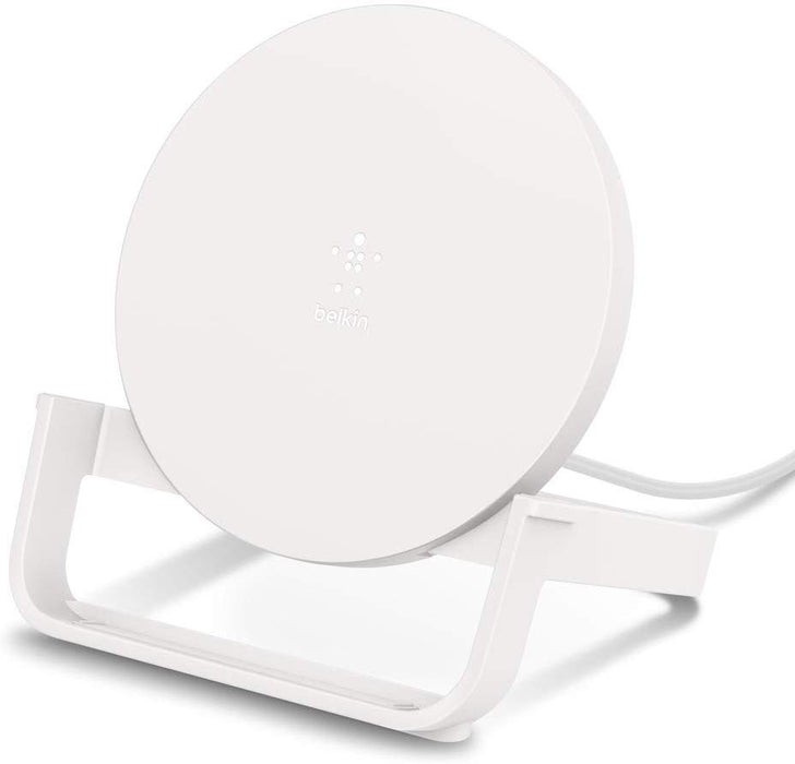 Belkin BOOSTUP Wireless Charging Stand Landscape/Portrait Mode - White