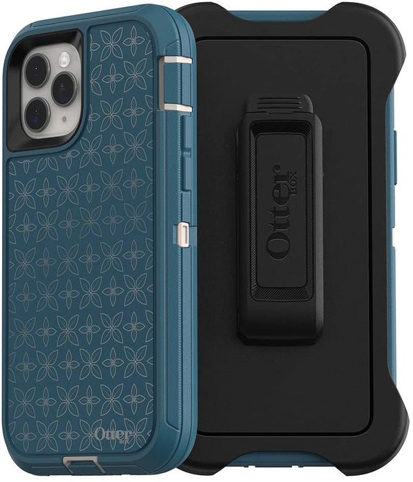 OtterBox DEFENDER SERIES Case and Holster for iPhone 11 Pro - Petal Pusher