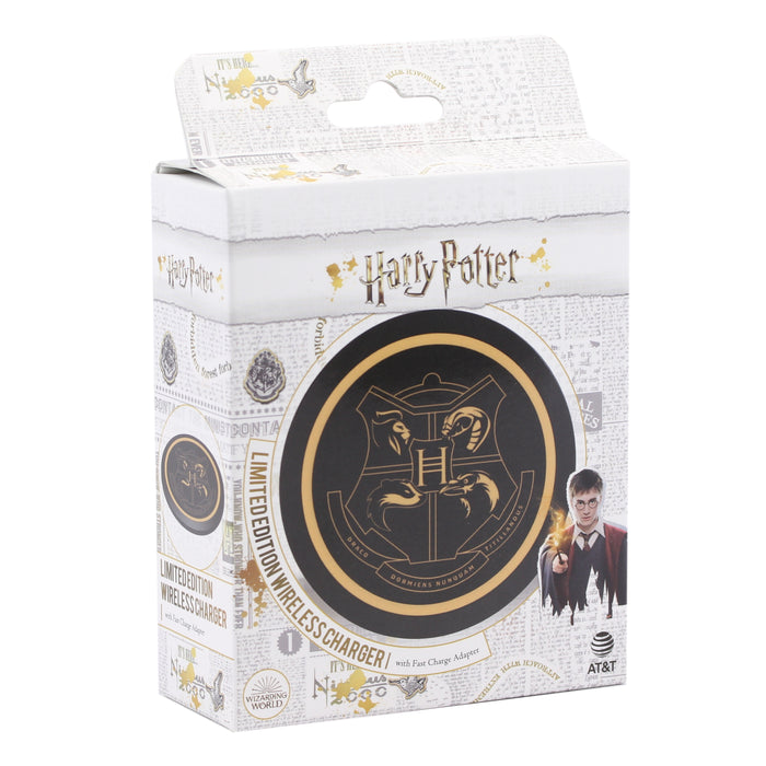 AT&T Harry Potter Wireless Charger for all Qi-Enabled Devices, 10W - Black