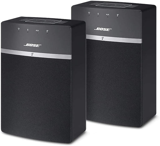 Bose SoundTouch10 Wireless Bluetooth Home Music System - 2 Pack - Black
