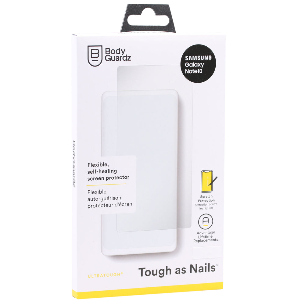 BodyGuardz UltraTough Screen Protector for Samsung Galaxy Note10 - Clear