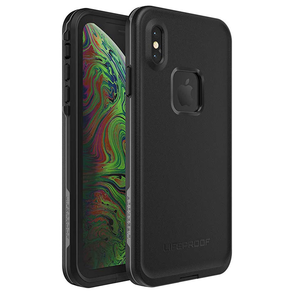 LifeProof FRE SERIES Waterproof Case for iPhone XS Max - Asphalt Black