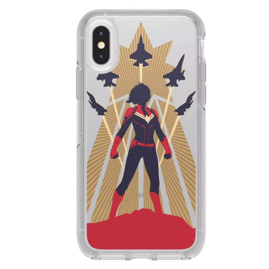OtterBox SYMMETRY SERIES Case for iPhone X / XS - Captain Marvel