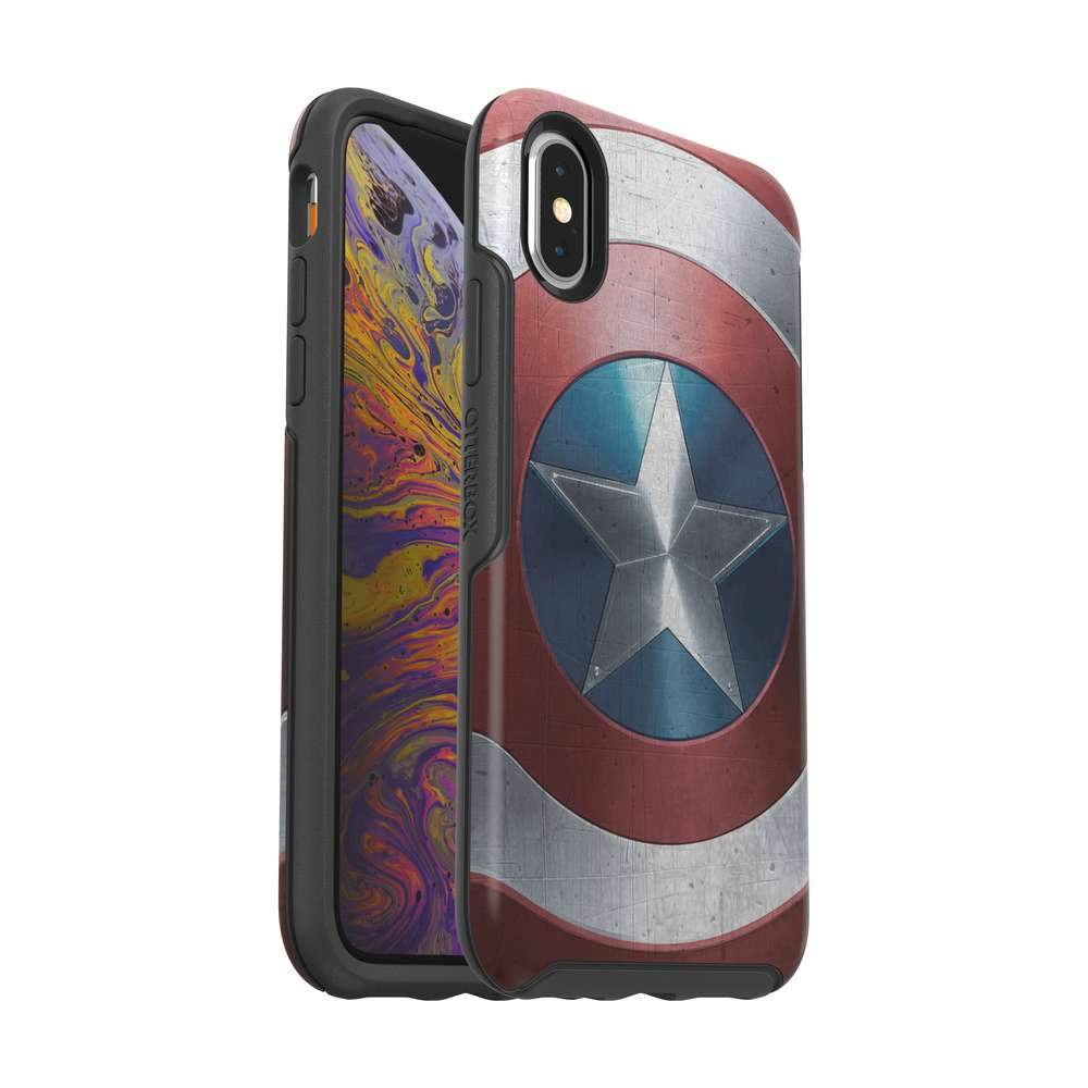 OtterBox SYMMETRY SERIES Case for iPhone X / XS - Captain America Shield