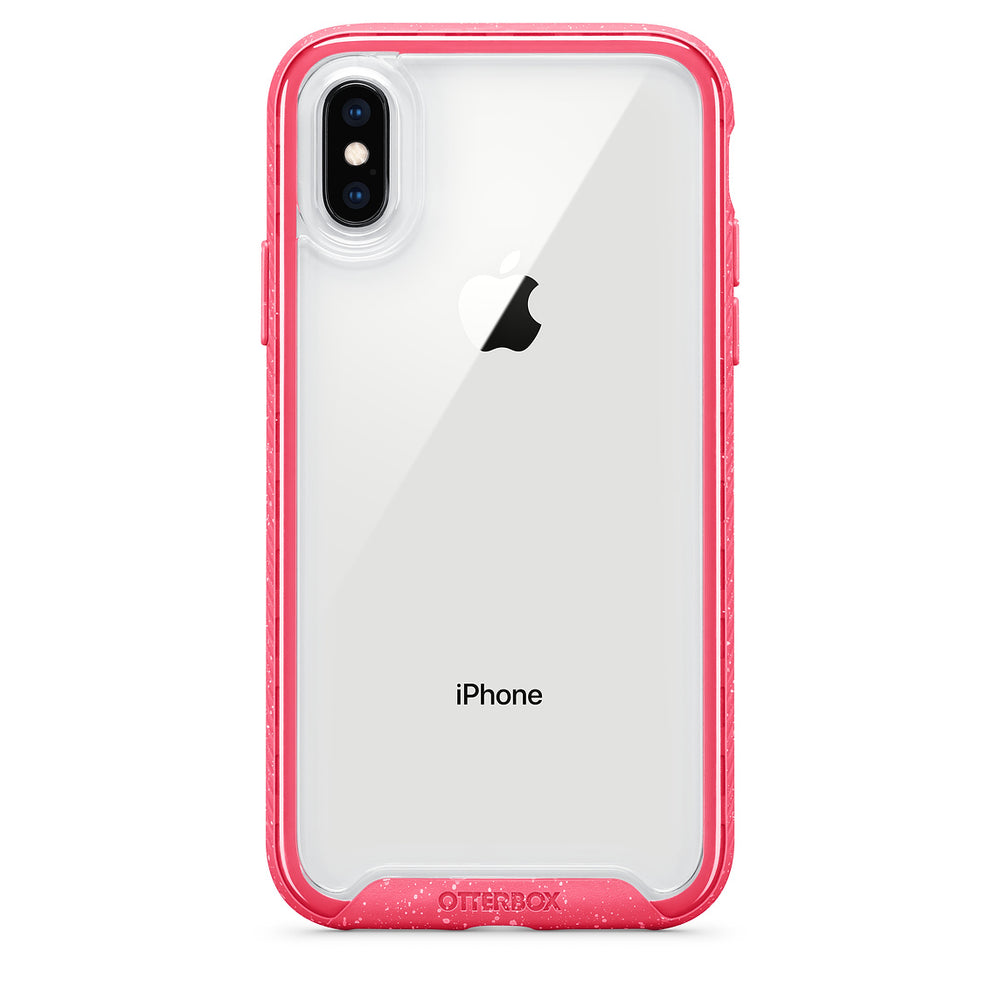 OtterBox Ultra Slim Clear Designer Case for iPhone X & iPhone Xs - Shock Berry