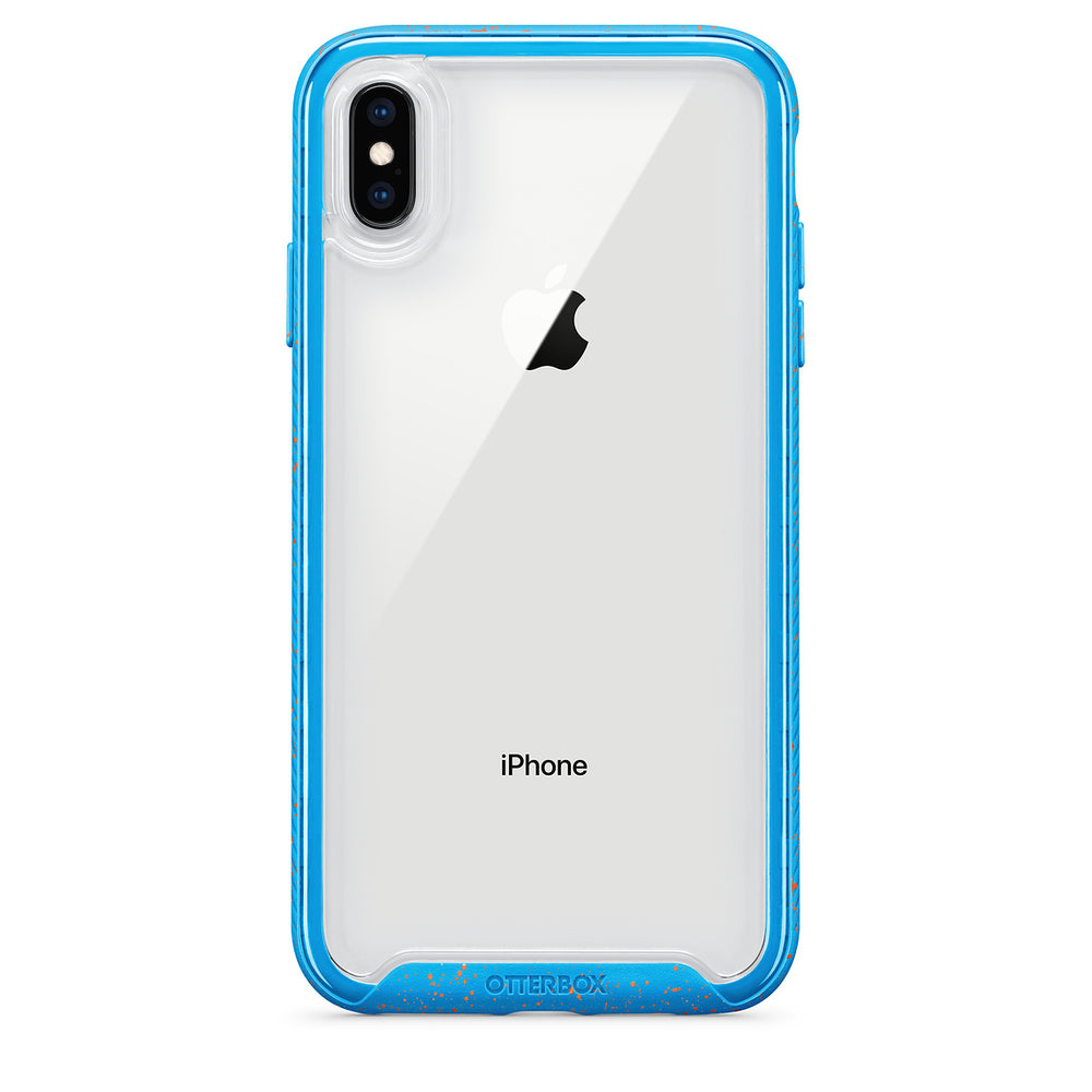 OtterBox Ultra Slim Clear Designer Case for iPhone X & iPhone Xs - Electric Tide