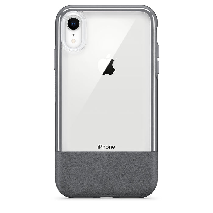 OtterBox Clear & Felt Case for iPhone XR - Lucent Storm