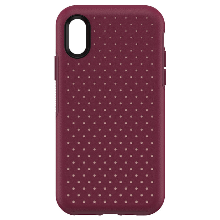 OtterBox Ultra Slim Luxurious Case for iPhone X and iPhone Xs - Berry Splash