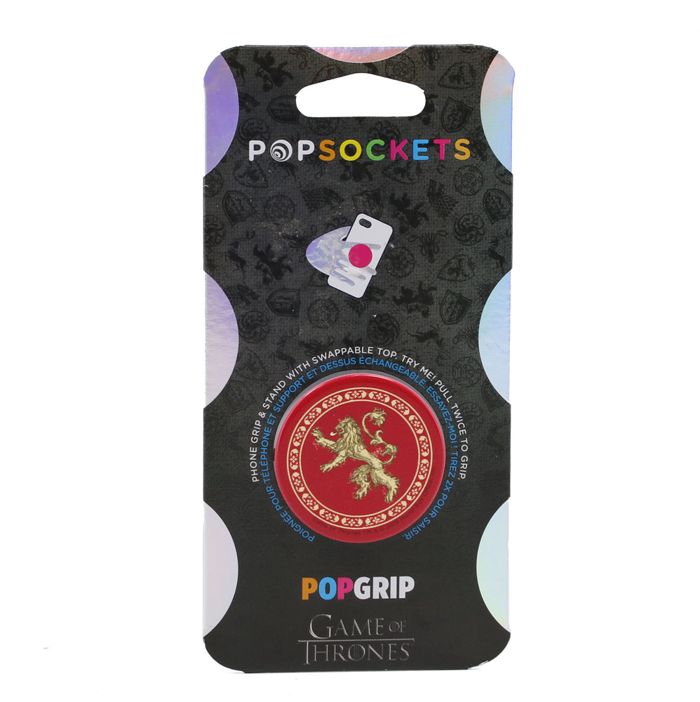 PopSocket Game of Thrones House Lannister Sigil Swappable PopGrip