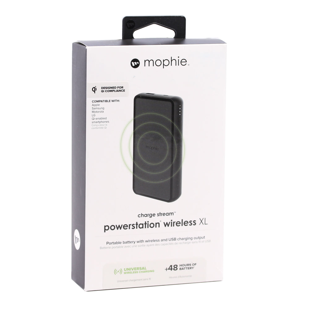Mophie Charge Stream Wireless Powerstation XL, 10000mAh - Black
