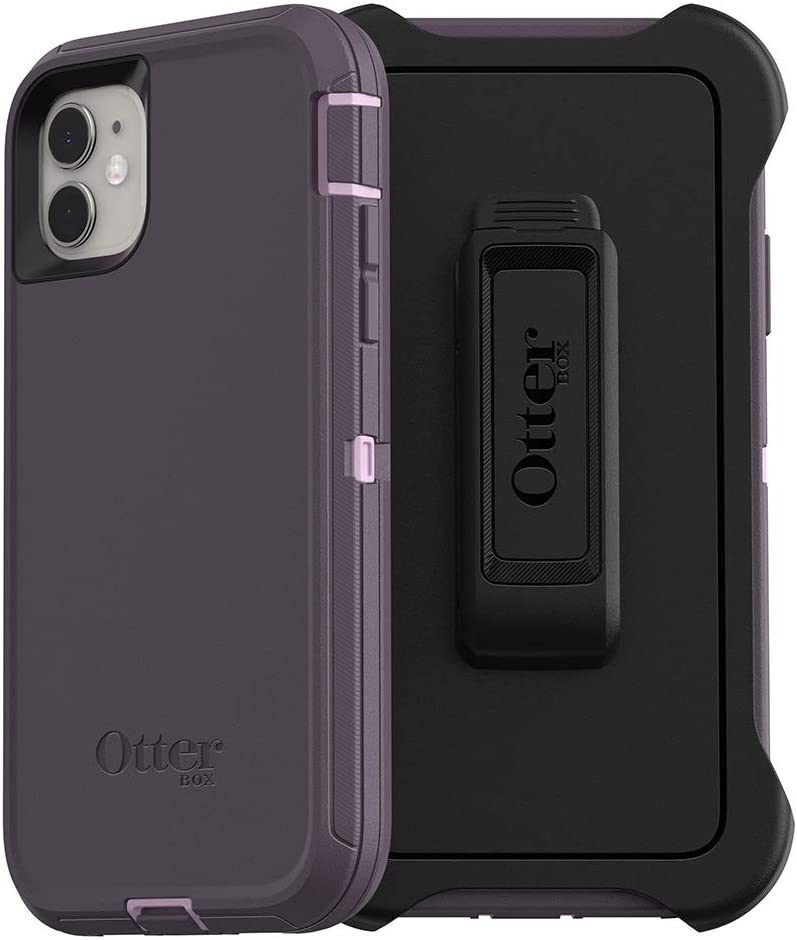 OtterBox DEFENDER SERIES Case & Holster for iPhone 11 - Purple Nebula