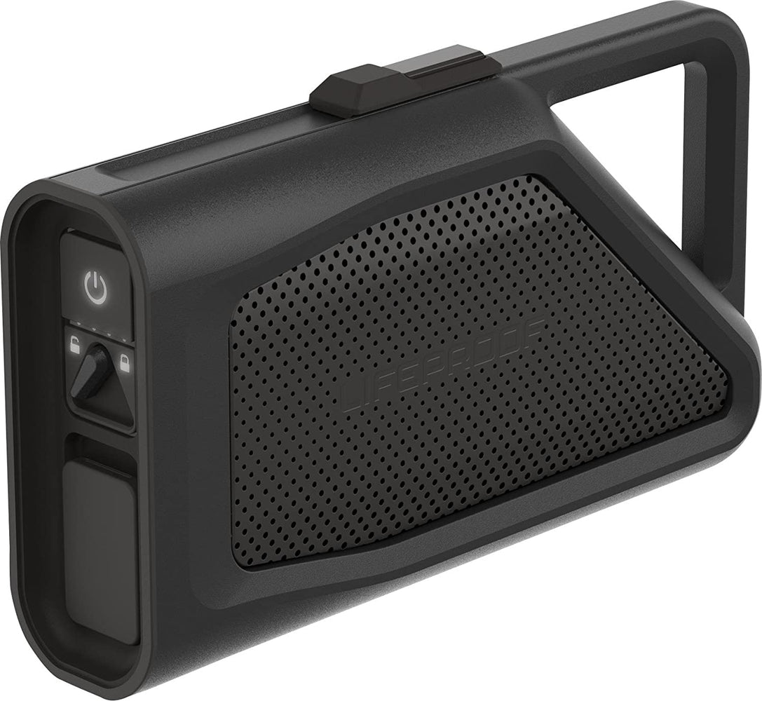 LifeProof AQUAPHONICS AQ9 Waterproof Portable Bluetooth Speaker - Obsidian Sand