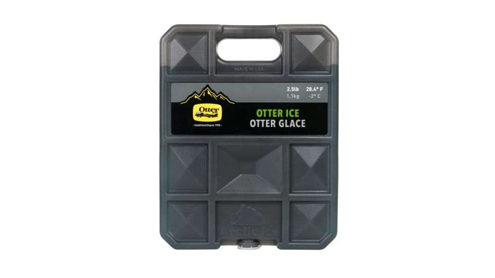 OtterBox Reusable Ice Pack Accessory - 2.5lb - Slate Grey