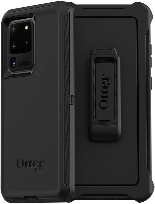 OtterBox DEFENDER SERIES Case & Holster for Galaxy S20 Ultra 5G - Black