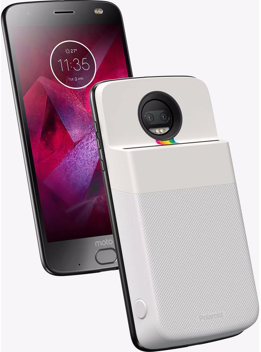 Motorola Moto Mod for Moto Z Phones - Polaroid Insta-Share Printer - White