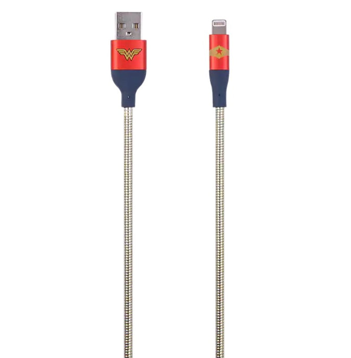 SUPERIOR AT&T 6FT Wonder Woman Lightning Cable - Gold