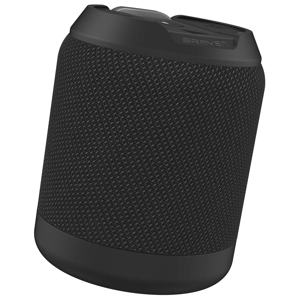 Braven BRV-MINI Waterproof Portable Bluetooth Speaker - Black