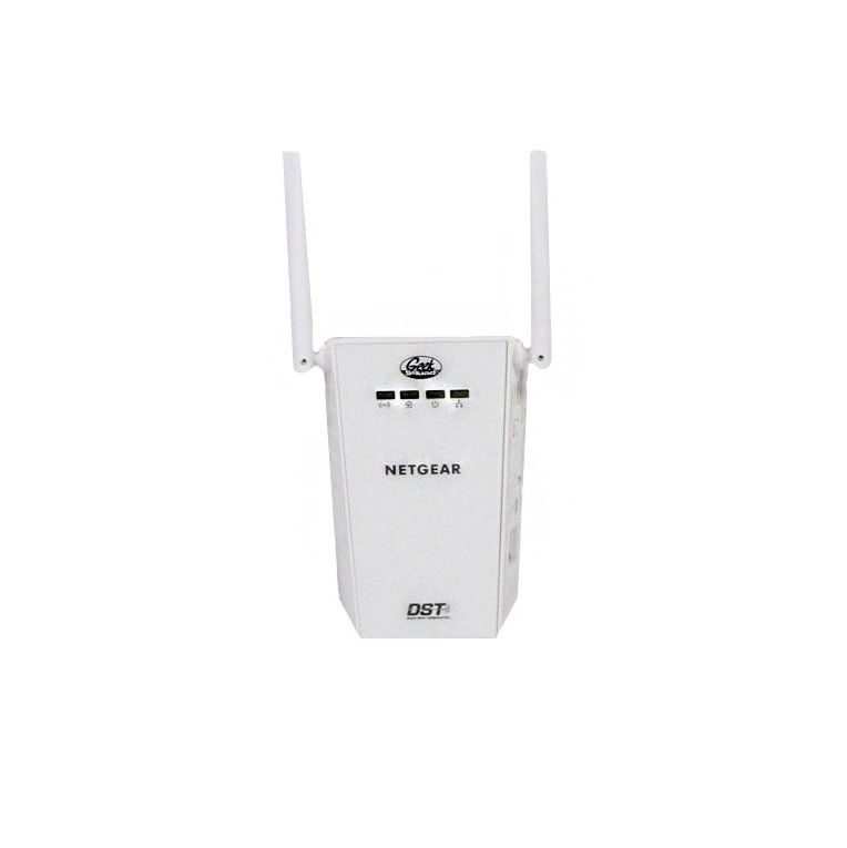 Netgear - DST Wireless Adapter for Wi-Fi Routers - White (Refurbished)