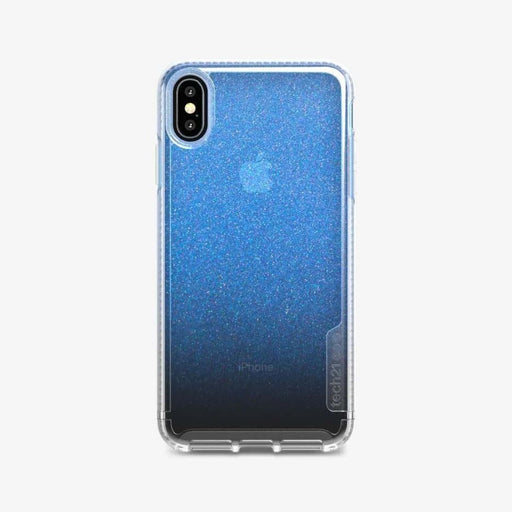 Tech21 Pure Shimmer Case for iPhone XS Max - Blue