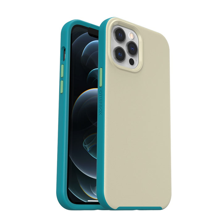 OtterBox Slim Case with MagSafe for iPhone 12 Pro Max - Marsupial Beige/Teal