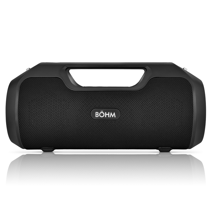 BÖHM IMPACT PLUS Wireless Bluetooth Speaker Water Resistant - Black